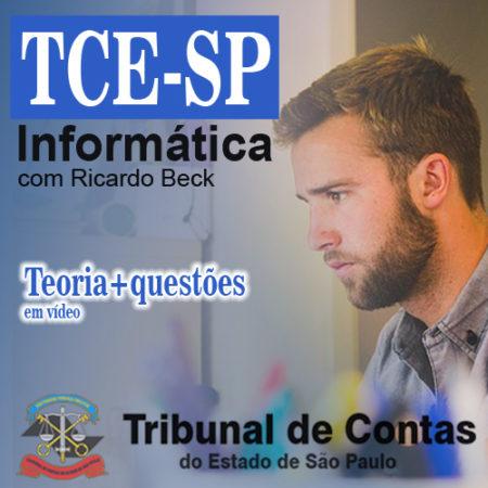 TCE-SP   Indicação teórica + questões
