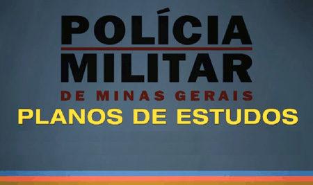 PM MG – Plano de Estudos (Soldado)