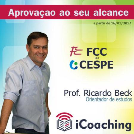iCoaching Tribunais || FCC ou CESPE