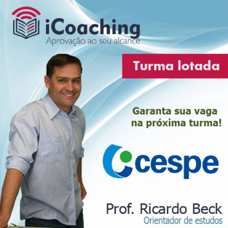 iCoaching CESPE || Acompanhamento Exclusivo