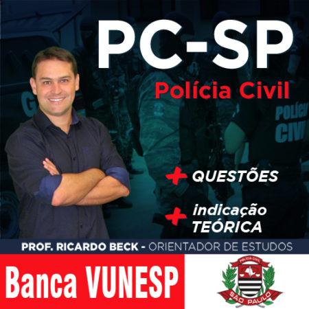 PC-SP / VUNESP | Questões + indicação teórica | INFORMÁTICA