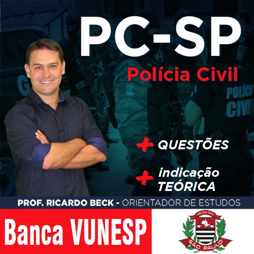 PC-SP / VUNESP | Questões | INFORMÁTICA