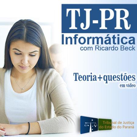 TJ-PR | Curso Completo – Informática