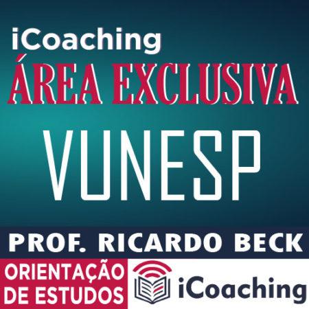 iCoaching VUNESP || Acompanhamento Exclusivo