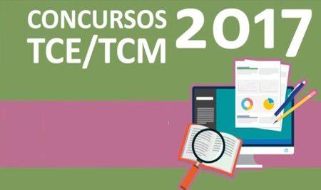 Concursos TCE/TCM 2017