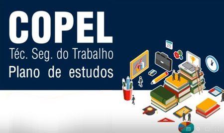 Copel – Plano de Estudos (Técnico de Segurança do Trabalho)