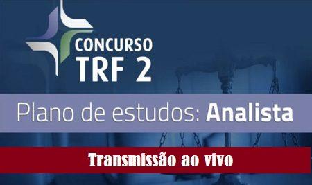TRF 2 – Plano de estudos (Analista)
