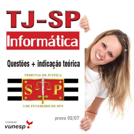 TJ SP | Questões + indicação teórica