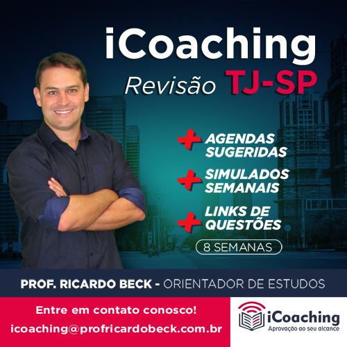 iCoaching TJ-SP REVISÃO || VUNESP / 8 semanas