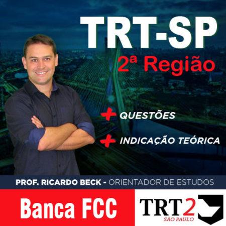TRT-SP / FCC | Questões + indicação teórica | INFORMÁTICA