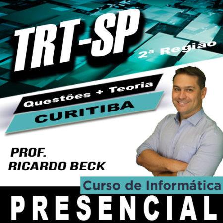 TRT-SP / FCC | Curso Presencial – Curitiba | INFORMÁTICA