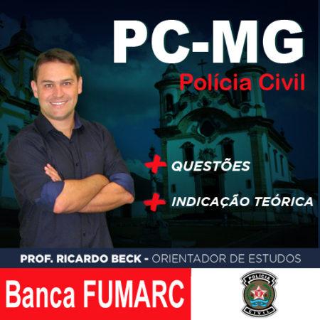 PC-MG / FUMARC | Questões + indicação teórica | INFORMÁTICA