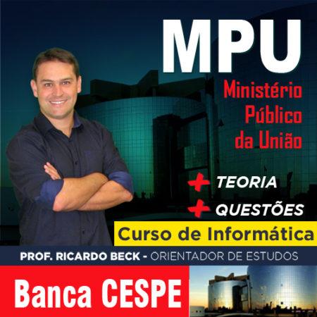 MPU / CESPE | Completo | INFORMÁTICA