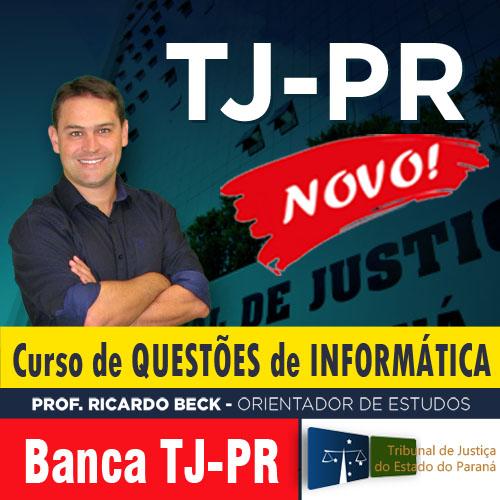 TJ-PR | Questões de Informática
