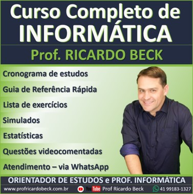 Curso Completo de Informática Orientado | Acompanhamento Exclusivo