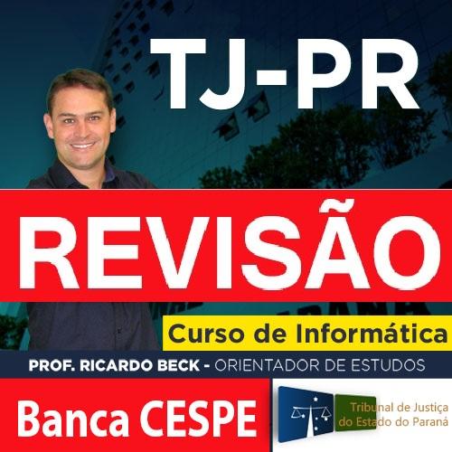 Revisão TJ-PR || CESPE / CEBRASPE
