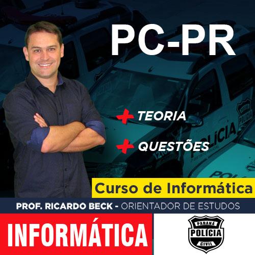 PC-PR / NC-UFPR | Teoria + Questões | INFORMÁTICA