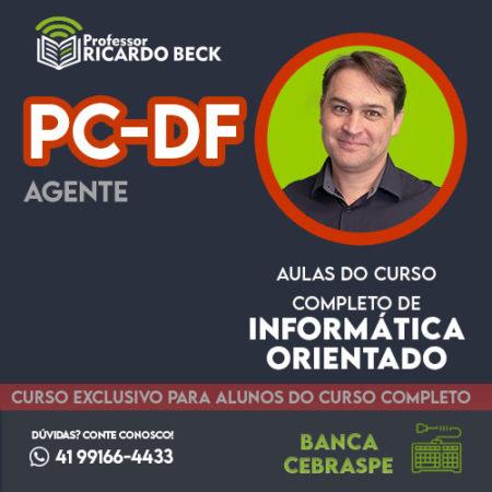 Curso Completo de Informática – Módulo: PC-DF Agente | Banca CEBRASPE | Teoria + Questões