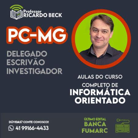 Curso Completo de Informática – Módulo: PC-MG | Banca FUMARC | Teoria + Questões