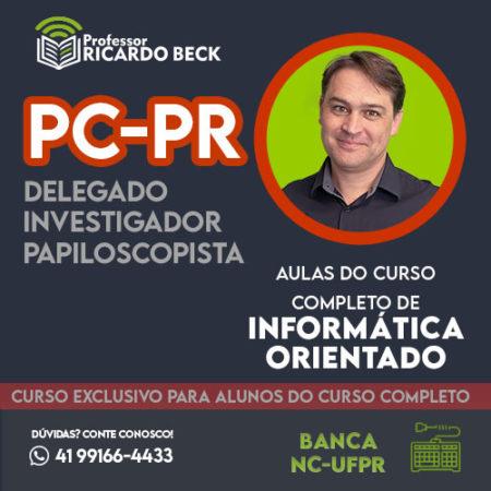 Curso Completo de Informática – Módulo: PC-PR | Banca NC-UFPR | Teoria + Questões