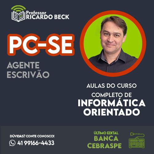 PC-SE | Banca CEBRASPE | Teoria + Questões | CCIO