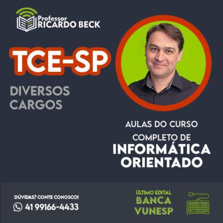 Curso Completo de Informática – Módulo: TCE-SP | Banca VUNESP | Teoria + Questões