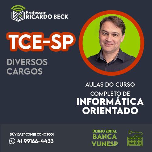 TCE-SP | Banca VUNESP | Teoria + Questões | CCIO