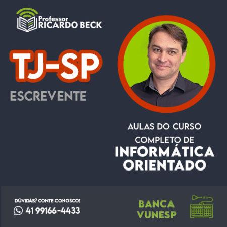 Curso Completo de Informática – Módulo: TJ-SP | Banca VUNESP | Teoria + Questões