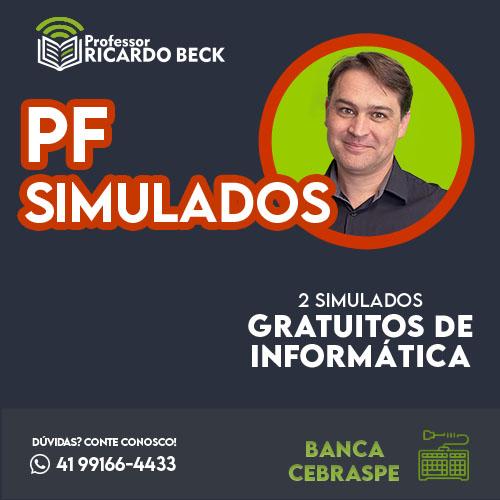 Simulados || PF 2018 || 2 Simulados | Banca CEBRASPE | GRATUITOS