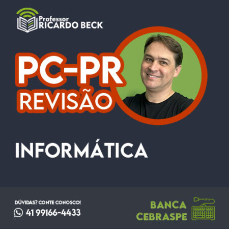 PC-PR / NC-UFPR | Revisão de Véspera | INFORMÁTICA