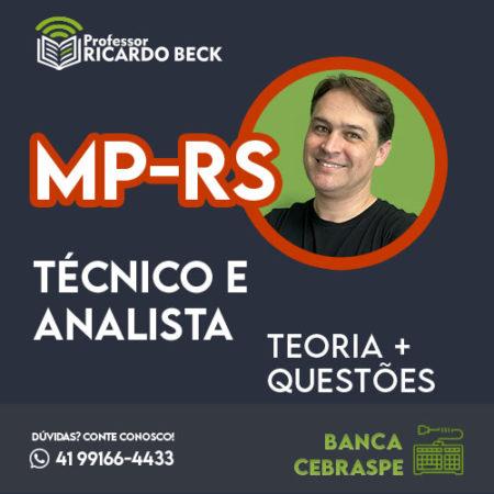 Curso Completo de Informática – Módulo: MP-RS | Banca Inst. AOCP | Teoria + Questões