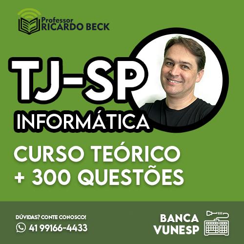 TJ-SP 2021 / VUNESP   INFORMÁTICA