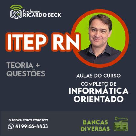 Curso Completo de Informática – Módulo: ITEP RN | Banca Inst. AOCP | Teoria + Questões