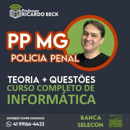 PP MG / SELECON | INFORMÁTICA