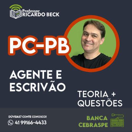 PC-PB  | Teoria + Questões | INFORMÁTICA | Cebraspe Especial PC-PB
