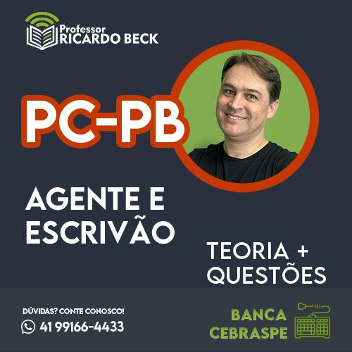 PC-PB    Teoria + Questões   INFORMÁTICA   Cebraspe Especial PC-PB